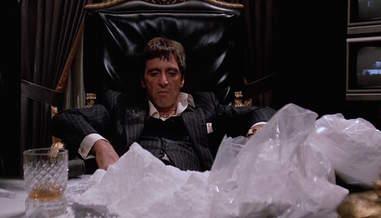 the cocaine pile