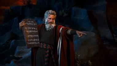 the commandment tablets