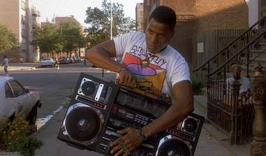the boombox