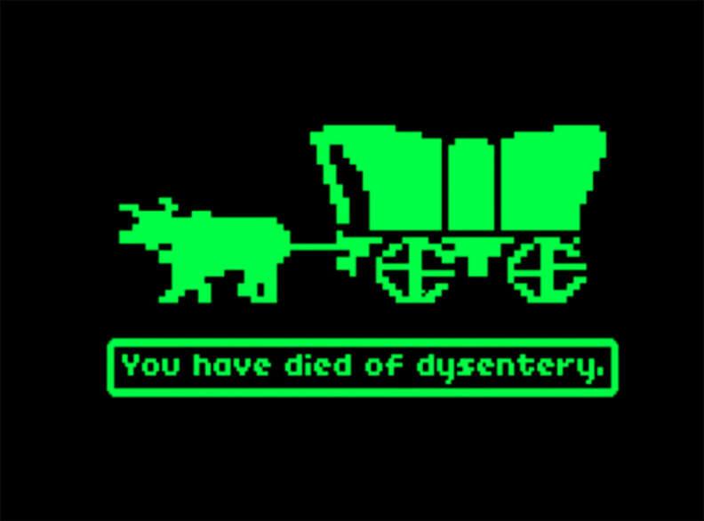 oregon trail dysentery meme