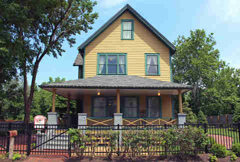 Stay at the A Christmas Story house