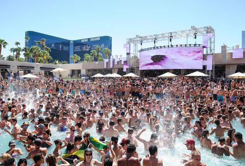 Best Las Vegas Pool Parties 2017 Party Guide Thrillist