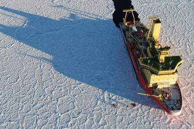 dragon ice antarctica