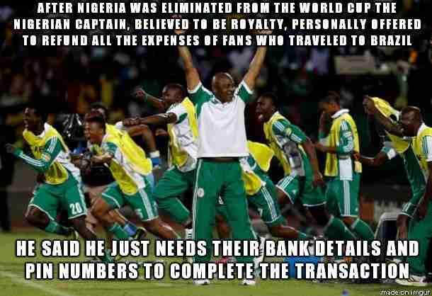 Nigerian Scammer Housing Call - The Hoax Hotel - YouTube  Craigslist Nigerian Scam Meme