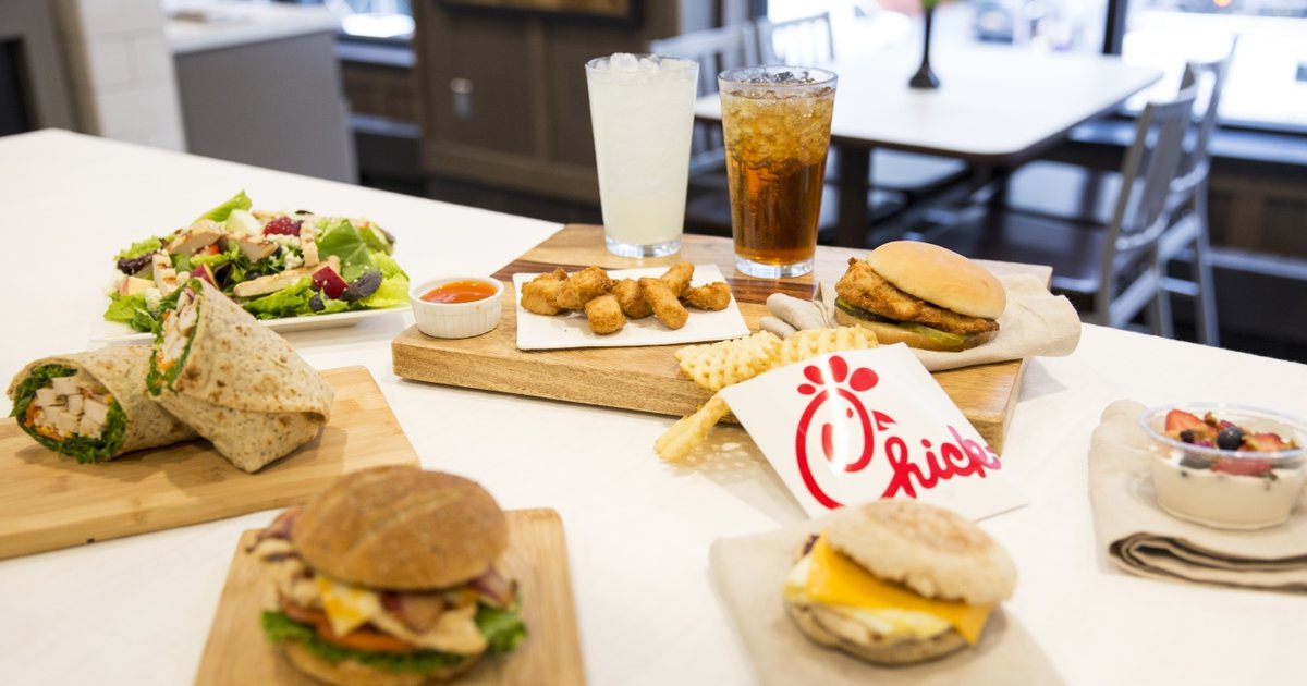 Chick Fil A Launches New Smokehouse Bbq Bacon Sandwich