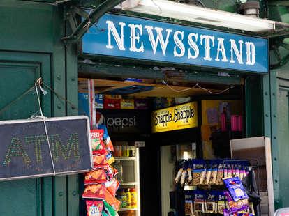 New York's Struggling News Stands