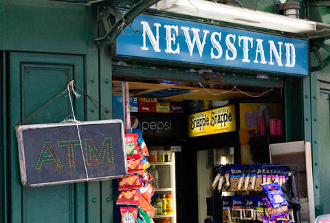 New York's Struggling News Stands