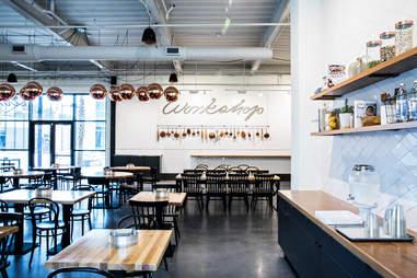 workshop food hall