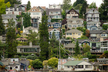 Seattle hills near University District