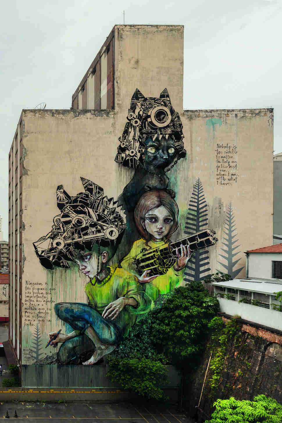 Street Art & Wall Murals From Around The World You Have To