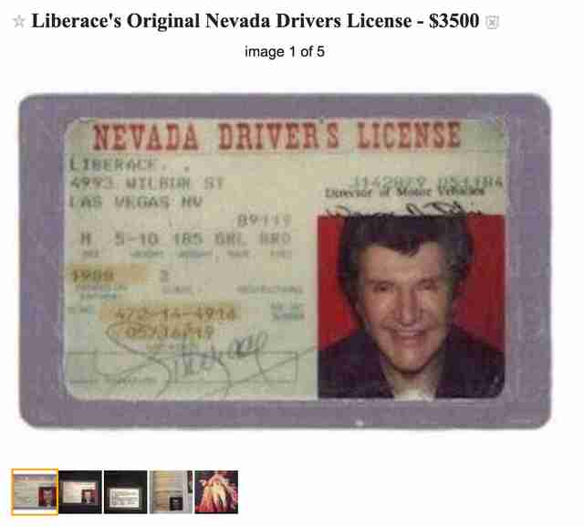 old driver's license