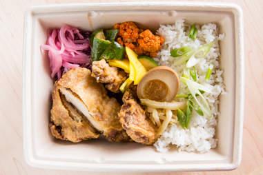 Crispy Chicken Rice Bowl