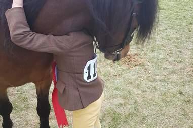 rescue pony horse show