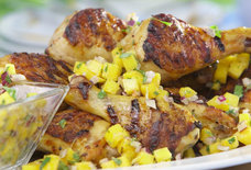 Get Grilling: Yogurt-Marinated Chicken