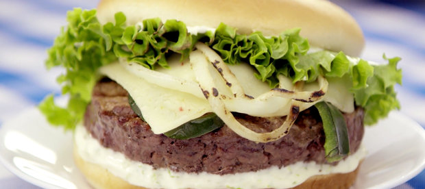 Get Grilling: Green Chile Burger