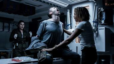 Alien Covenant Screaming Guy