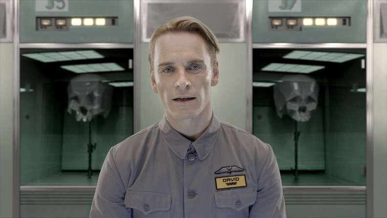 Alien David Michael Fassbender