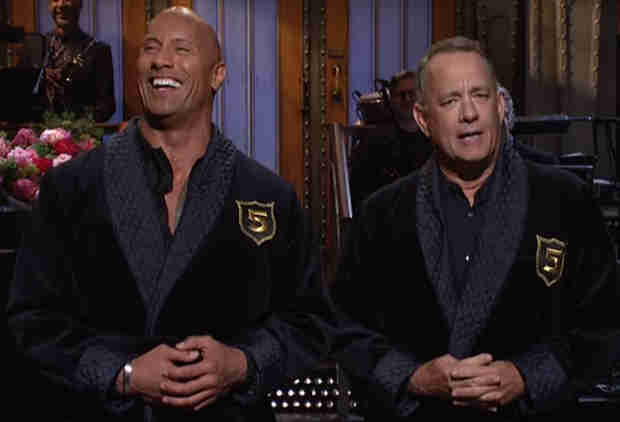 Dwayne Johnson and Tom Hanks Are Running for Office in 2020