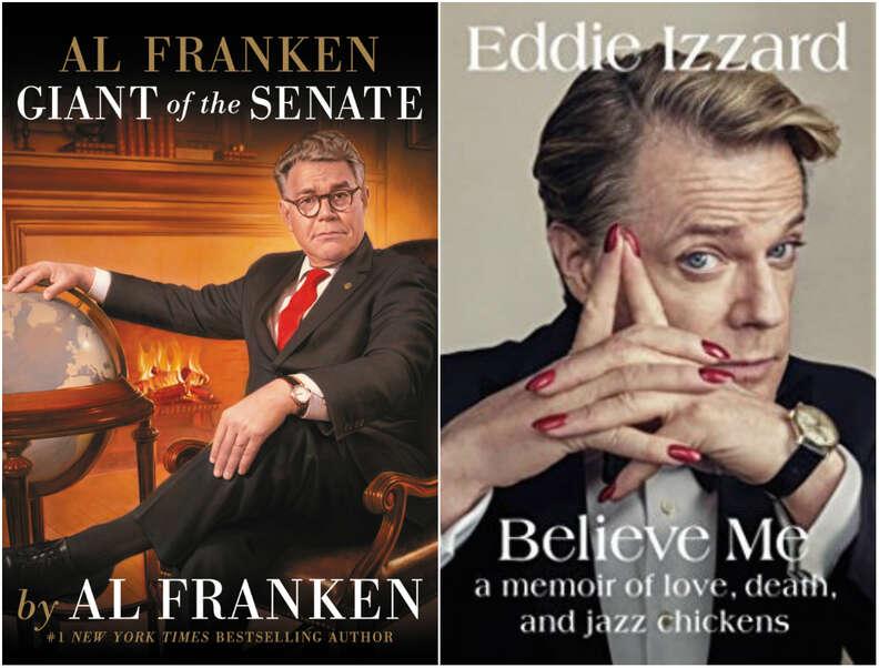 al franken and eddie izzard books