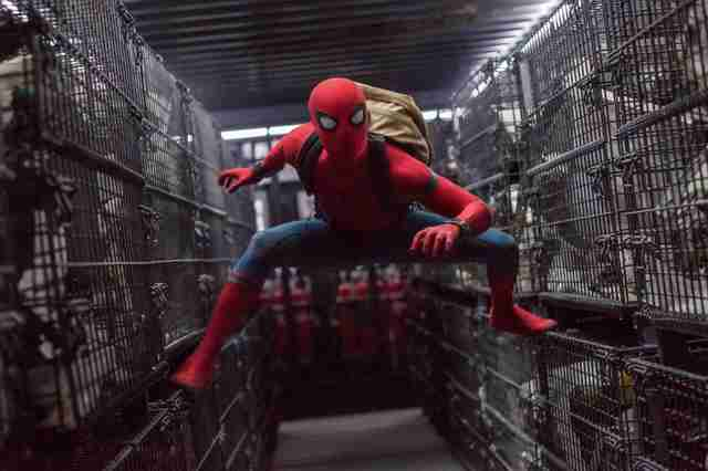 spider-man: homecoming 2017