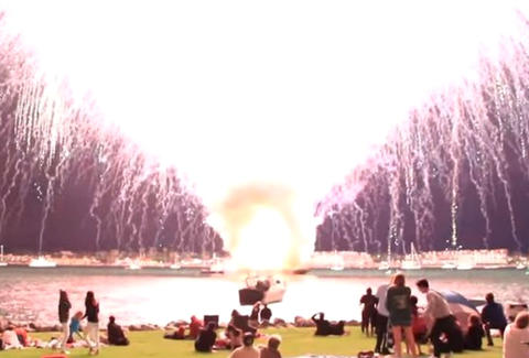 fireworks displays that went wrong
