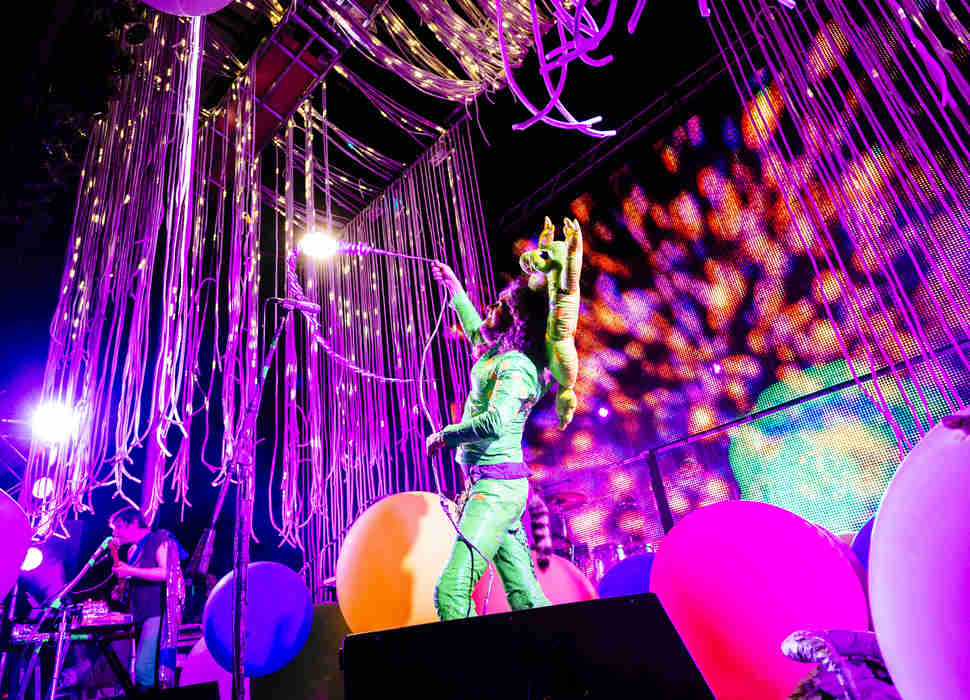 flaming lips at Nelsonville music fest