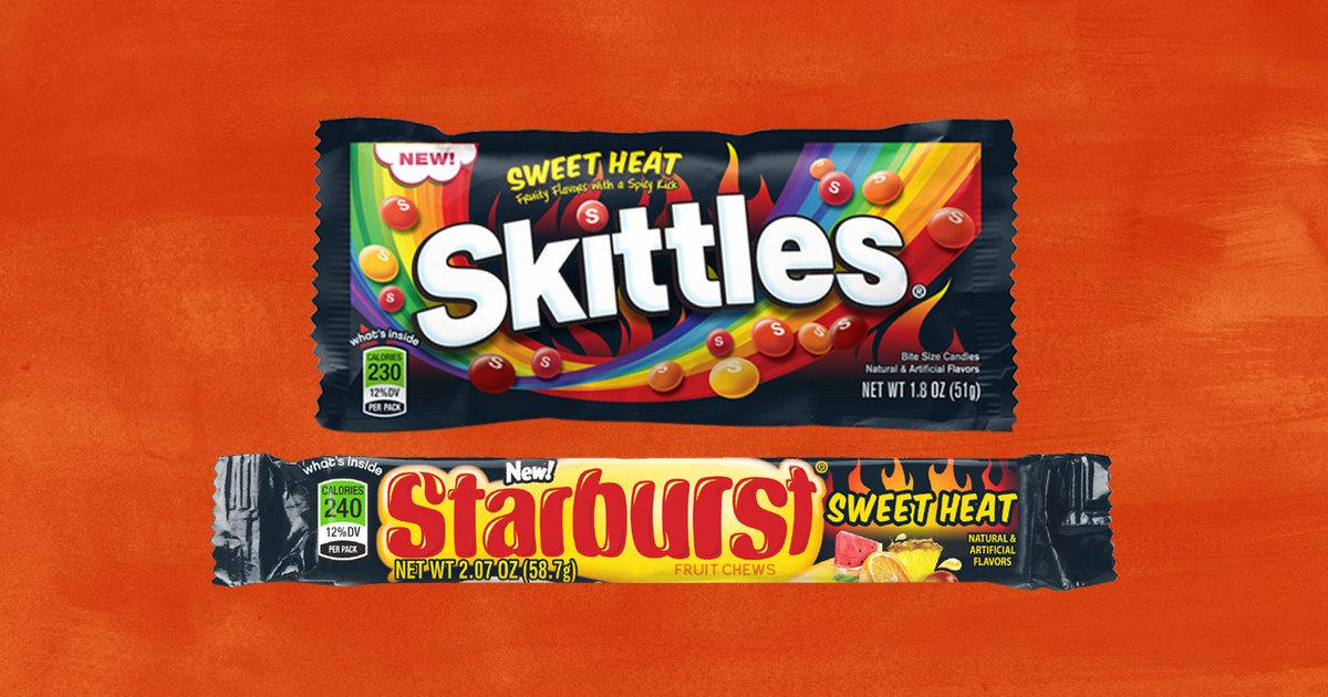 Spicy 'Sweet Heat' Skittles & Starburst Are Coming December