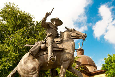 Texas Ranger Captain John Coffee 'Jack' Hays statue