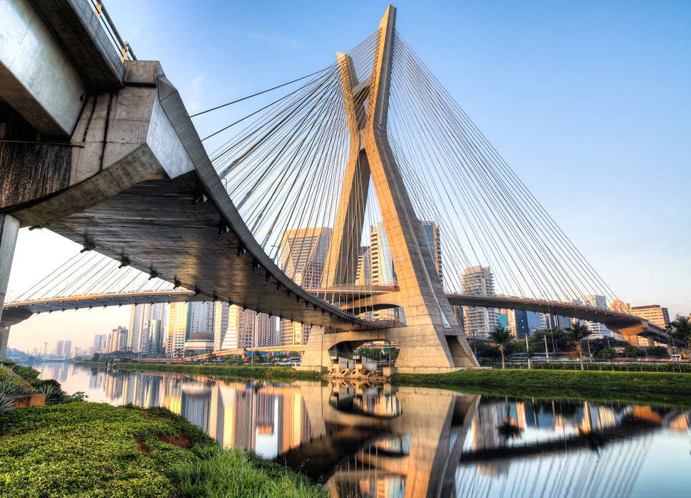 OCTÁVIO FRIAS DE OLIVEIRA BRIDGE IN SÃO PAULO  