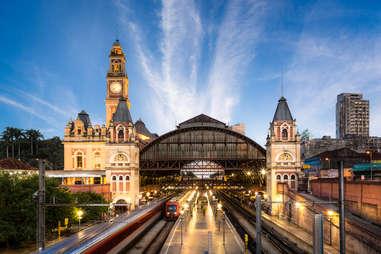 Luz Train Station
