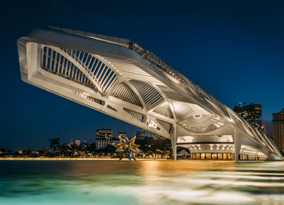 MUSEUM OF TOMORROW IN RIO DE JANEIRO, BRAZIL |