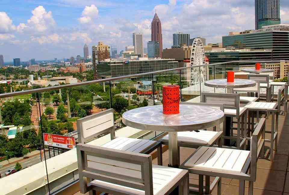 Best Rooftop Bars In Atlanta Where To Drink With A View