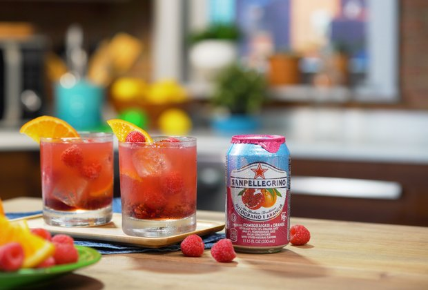 Let the Sanpellegrino Spritz Liven Up Your Next Garden Party