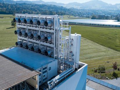 climeworks plant in switzerland