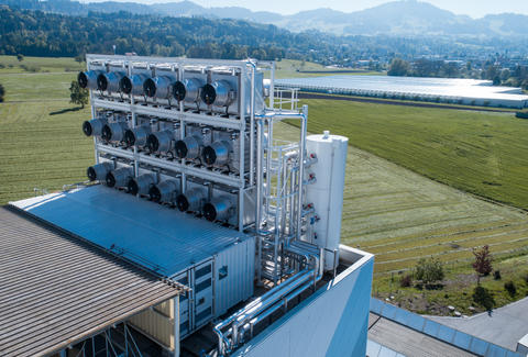 climeworks plant in switzerland