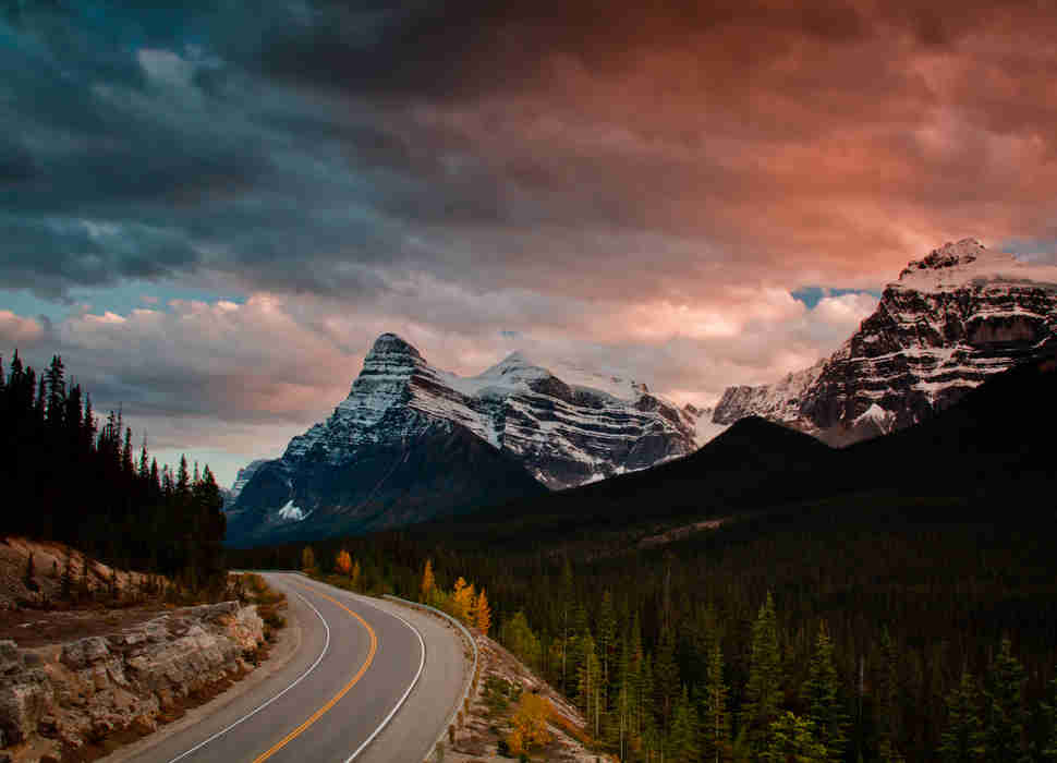 columbia icefields parkway