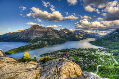 Waterton Lakes and Townsite, Waterton National Park Canada