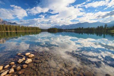 Beauvert Lake, Jasper, Alberta