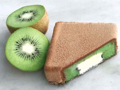 kiwi sorbet bars