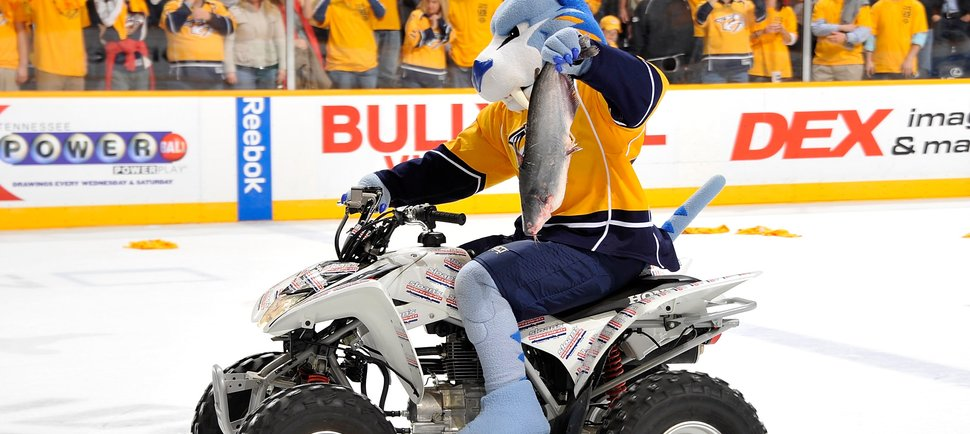 Here's Why Nashville's Hockey Fans Throw Catfish Onto the Ice