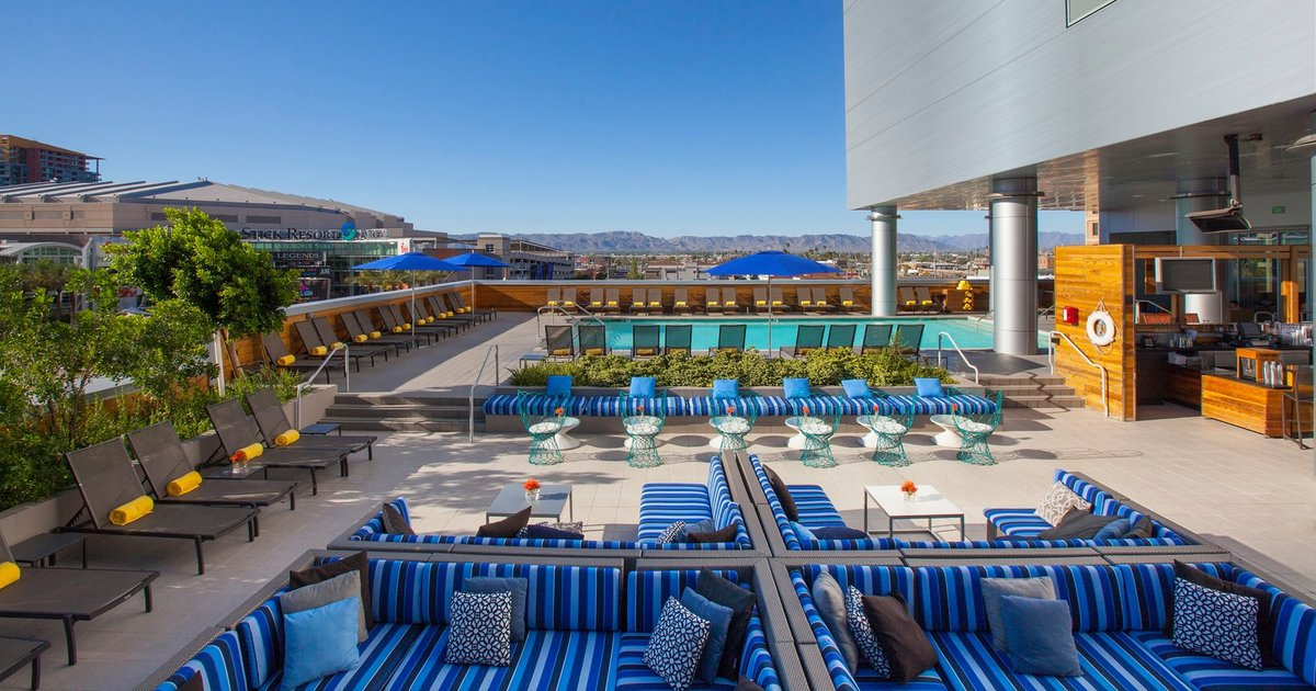 Best Rooftop Bars In Phoenix Arizona For Drinking Outside
