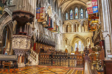 Saint Patrick Cathedral in Dublin, Ireland