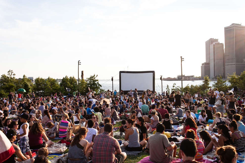 Every Free Outdoor Movie In NYC This Summer