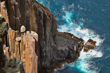 Cape Raoul cliffs