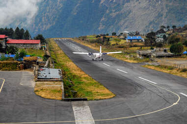 Nepal Lukla airport