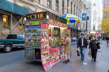 Street Vendor in Lower Manhattan