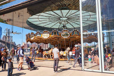 Jane's carousel, Brooklyn Bridge Park