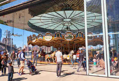 Jane's carousel, Brooklyn Bridge Park