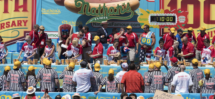 Nathan's Annual Hot Dog Eating Contest