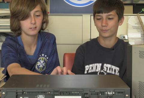 kids react to using VCRs